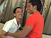 Jherrad and Phillip licking ass boys straight men amateur colleg