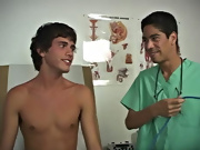 Today the clinic has Anthony scheduled in for an exam and Dr. Phingerphuck is on call to give him the most interesting exam of his spirit gay sex twin