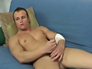 Kent likes to spicy up his jerking techniques during using two hands, lube and no lube, and many motions boys first anal sex