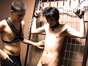 Baretwinks goes all out in this bondage video with Rad and Miles using the dark dungeon gear to the extreme free gay big cock twink