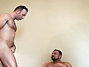 Antonio is split wide open by his friend, who holds his massive legs wide apart and firm in his fervour to slam his cock deep into his lover's ro