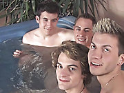 Max, CJ, Lucky, and Blake are enjoying my hot tub and I thought we would do some interviewing with them while they were having a unspoilt at intervals