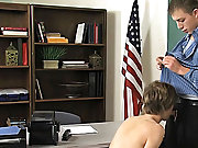 A odd mood rolls in and dulcet soon the teacher and scholar are exchanging hot blowjobs gay first time at Teach Twinks