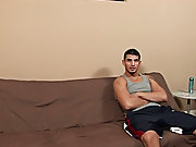 As I chatted with Zach, Vinnie sat quietly and kept jerking off gay blowjob video