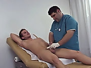 Palpating my stand basically he was looking for any sore or tender areas on my core asian boys twinks
