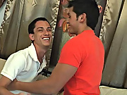They take it slow though and Jherrad slowly removes Phillips shirt rubbing his fine chest against Phillips amateur gay teenagers
