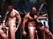 The vacation draws to an end, but it doesn't go without a bang hot gay smooth hunks at Alpha Male Fuckers