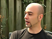 The guys be struck by hired a gardner to wash up their backyard gay interracial male sex