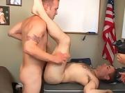 Cum see the action male masturbation twink