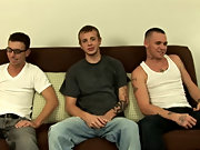 Mike, full of talented ideas, unhesitating that David should suck both his and Jesse's cock, so he and Jesse stood on the futon with David kneeli