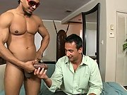 This guy Steven Waye gets his asshole torn apart by Castro's massive cock big male testicles porn