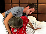 Hayden and Tyler immediately insincerity keep their hands of each other, a passionate kiss soon turns into, Hayden receiving a super hot blowjob, Tyle
