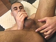 Danny plays with his feet young boys fucking matur
