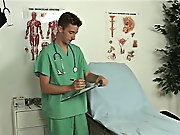 My dick was raging hard Dr. Toppinbottom concentrating on fingering my asshole, and changed up the stride in doing it big gay cock cum