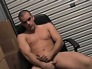 He slipped his hand inside and started to play with himself amateur male exhibitionists