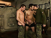 Mike is about to get a lesson in breaking immodest when he gets his asshole broken open for the first time at hand Kiko and Mikee boe military gay