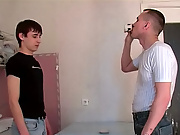 He was so horny he came wildly as his end was being pumped, and then brought relief to his lover with his hot, diminish, skillful fingers gay movie h