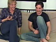 Devon soon gets his turn as Jeremy leans down and unzips his jeans to get to his own hidden hard pole hardcore gay  porn