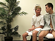Doctors offices always make them feel uncomfortable, but these two studs know just how to pass the speedily furry gay twinks