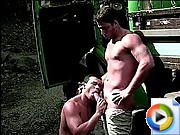 Sweet gay man dude gets his mauled by horny twink with a big boner