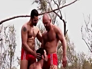 All three muscular gay studs love the style of cock and ass, they just can't get enough, and the fucking that Dean is disposed is mind blowing, w