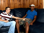 His first gay sex gay interracial muscle
